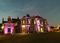 Lightwoods House at Night